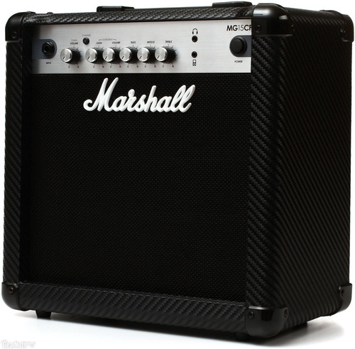 amplificador marshall mg15cf para guitarra 15 watts