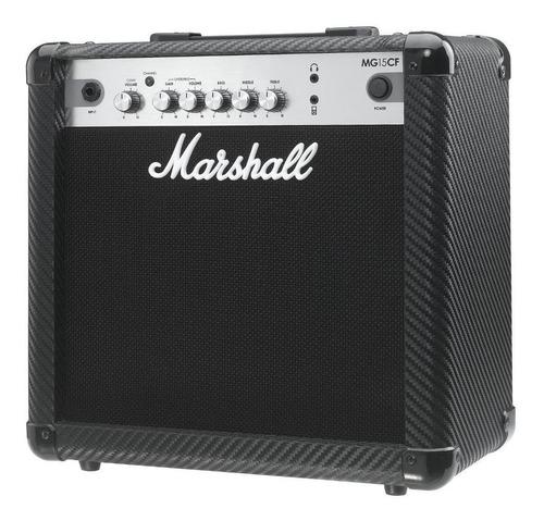 amplificador marshall mg15cf para guitarra 15 watts