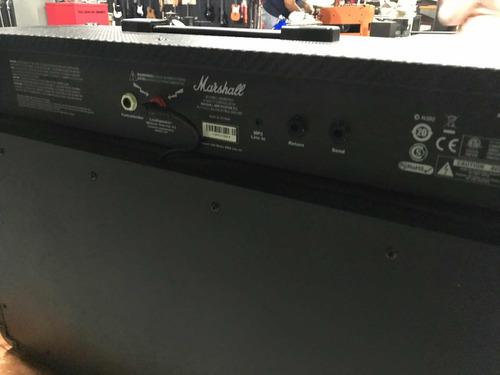 amplificador marshall para guitarra eléctrica mg102cfx