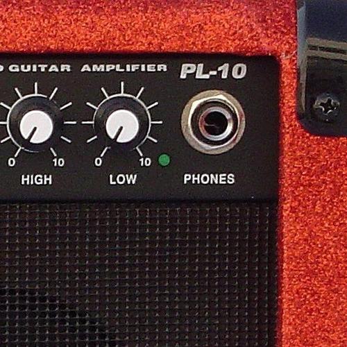 amplificador mega pl10s 10w 2 entradas  colores brillantes