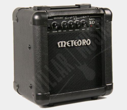 amplificador meteoro guitarra meteoro mg10 cabo 2 palhetas