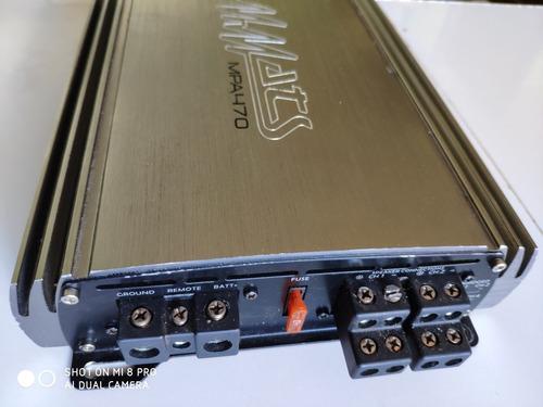 amplificador mmats mpa-470  de 4 canales
