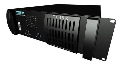amplificador módulo classe ab taigar tx15 15000w em 1.2 ohms