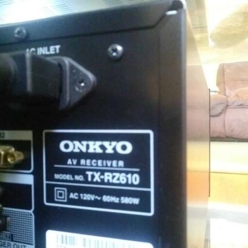 amplificador multicanal onkyo tx rz610