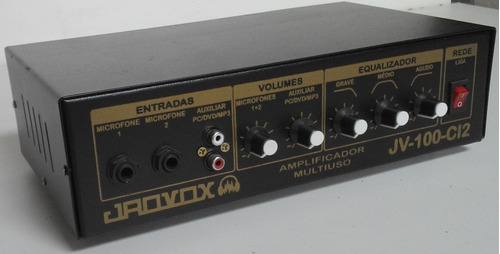 amplificador multiuso de 75w rms (300w pmpo)