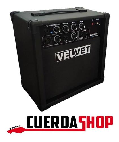 amplificador multiuso velvet mt3 - 3 canales 30w c/bluetooth