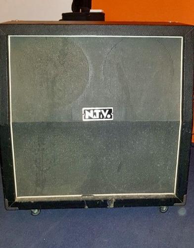 amplificador nativo cabezal y caja gts 100 rh + caja 4x12