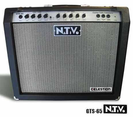 amplificador nativo gts 65 con celestion. para guitarra.