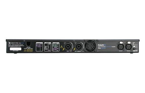 amplificador next pro nano 2650 1300wrms esp area rural 12x