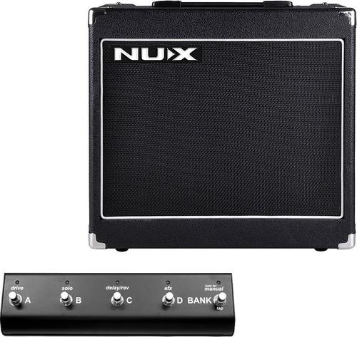 amplificador nux migthy 30 se con efectos guitarra electrica