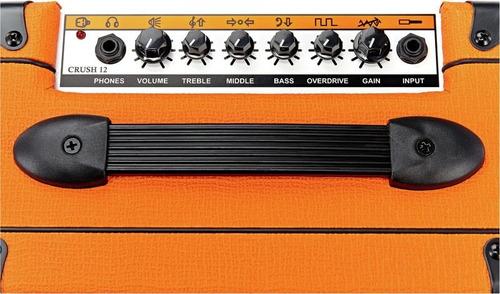 amplificador orange crush 12 para guitarra eléctrica de 12w
