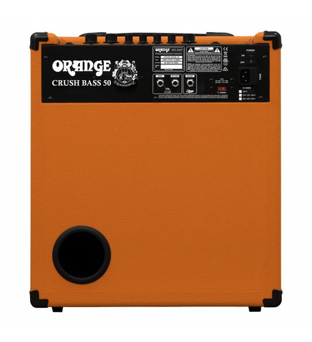 amplificador orange crush bass 50 combo de 50 w. para bajo g
