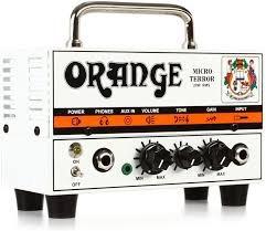 amplificador orange guitarra electrica mt 20 micro terror
