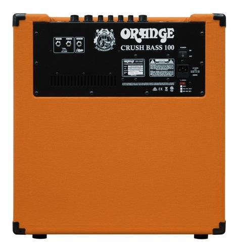amplificador orange para bajo cb100c combo 100w