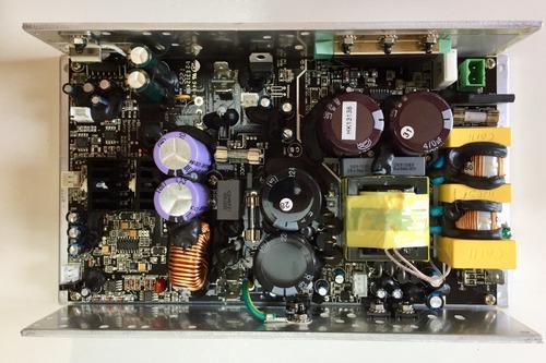 amplificador p/ ativação caixas amplificadas 2 vias sem pré