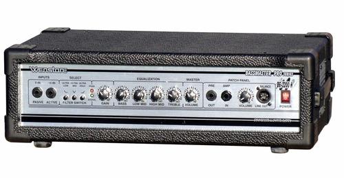 amplificador p/ bajo wenstone be-2200 cabezal 220 watts