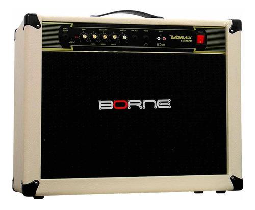 amplificador p/ guitarra 100w vorax 12100 creme - borne