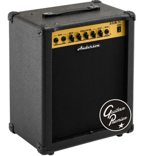 amplificador para bajo 35w ecualizador garantia oficial b35