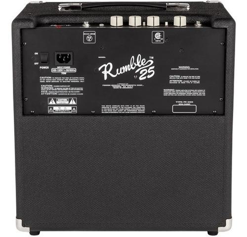 amplificador para bajo fender rumble 25 watts
