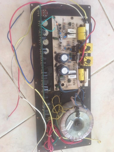 amplificador para corneta amplificada geminis gx-1201