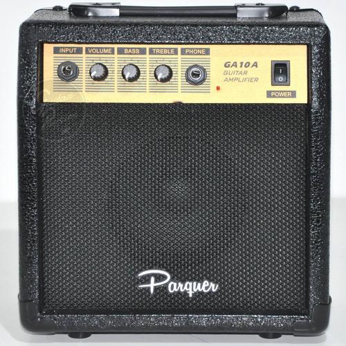 amplificador para guitarra 10w parquer ecualizador ga10a