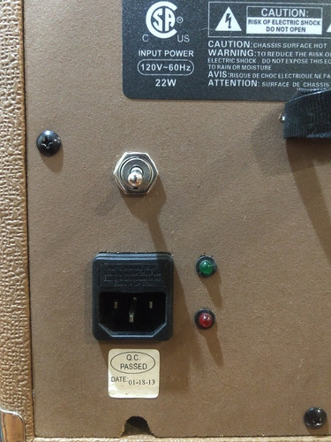 amplificador para guitarra acústica fender sa-10