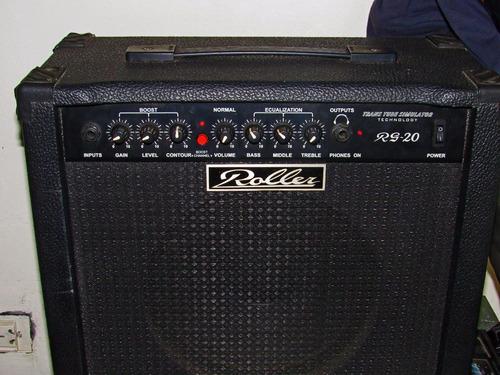 amplificador para guitarra eléctrica roller rg-20  20 watts