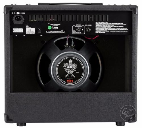 amplificador para guitarra laney 65w reverb distorsión envio