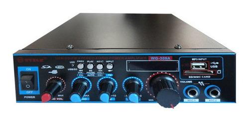 amplificador para perifoneo con bluetooth usb sd fm