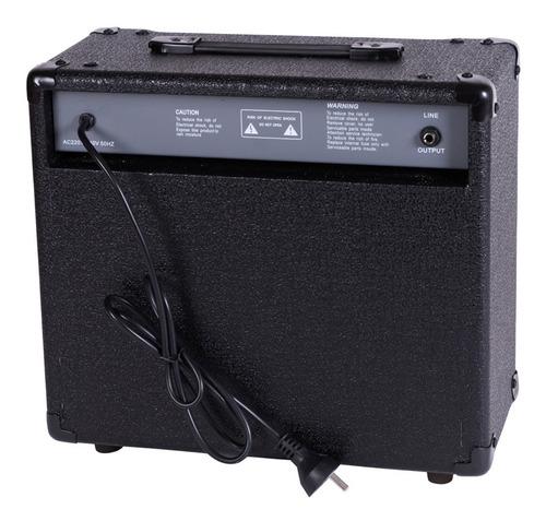amplificador parquer de bajo 20 watts cuota