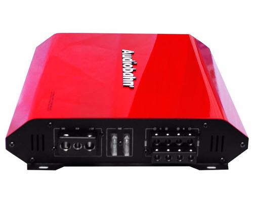 amplificador p/bocinas y woofers 2400 w 4 canales audiobahn.