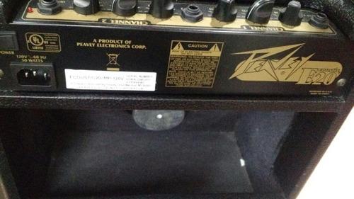 amplificador peavey ecoustic 20