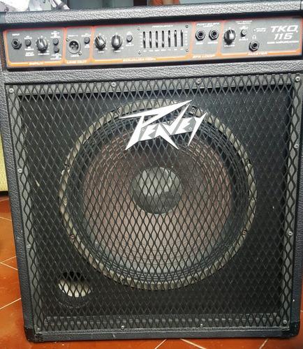 amplificador peavey para bajo