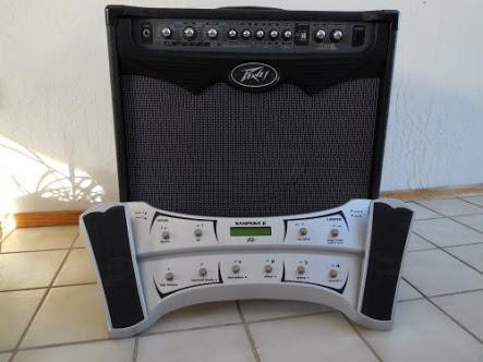 amplificador peavey y pedalera sanpera ii