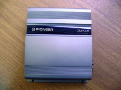 amplificador pioneer gm-x402 1/2 canales 80 w