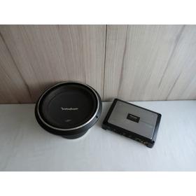 Amplificador Pioneer Prs-d2200t Y Subwoofer Rockford P3d212