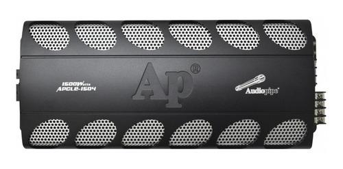 amplificador planta audiopipe apcle 1504 4 ch - 1500 watts