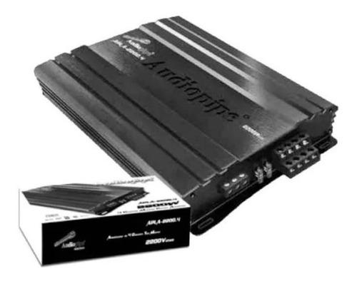 amplificador planta audiopipe apla-2200.4 2200w 4 canales