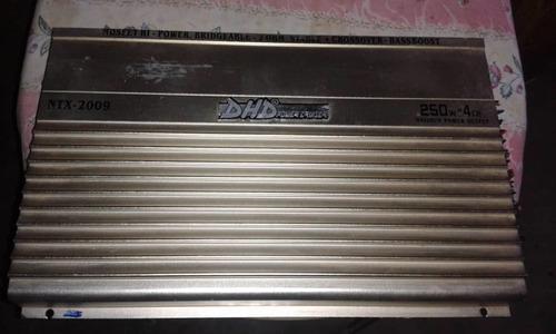 amplificador planta dhd ntx 2009 de 1000 watts 4 canales