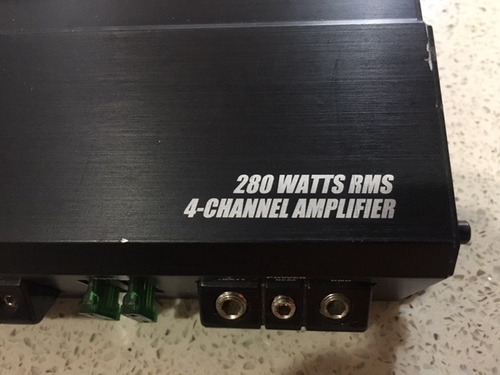 amplificador planta mtx thunder x704 1260w 4 canal original