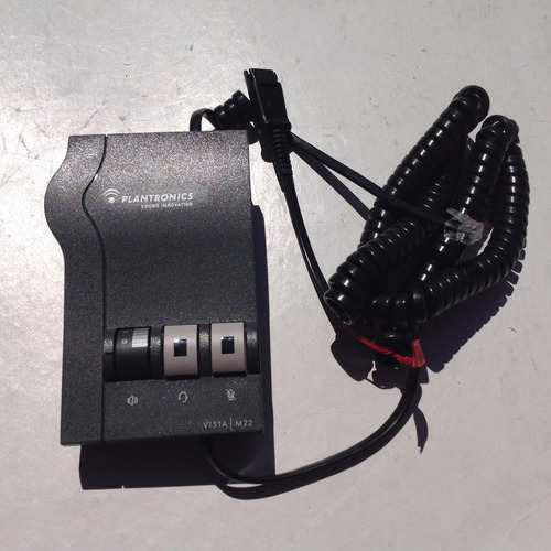 amplificador plantronics m22 con diadema hw261n nuevos