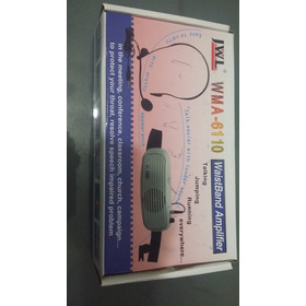 Amplificador Portátil: Wma -6110,novo Na Caixa