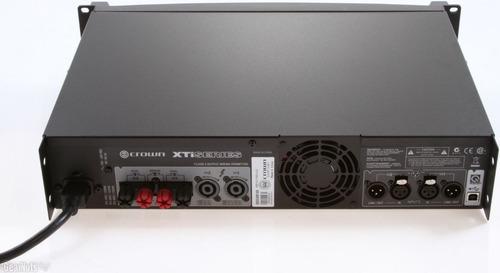 amplificador potencia crown xti4002 xti 4002 3200 watts rms