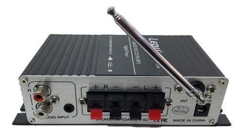 amplificador potencia lapi lepy 30w x2 lp-a7usb