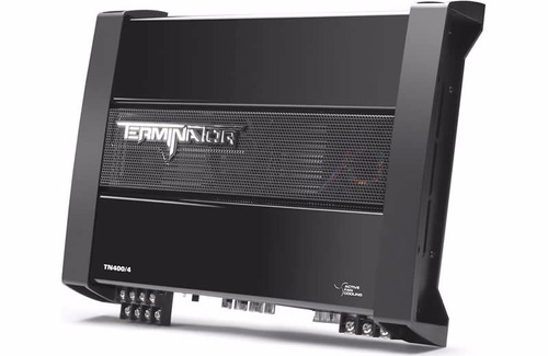 amplificador / potencia mtx terminator tn400/4 - 4 canales