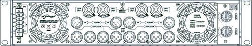 amplificador potencia powersoft x-8 | x8 | 41600 watts