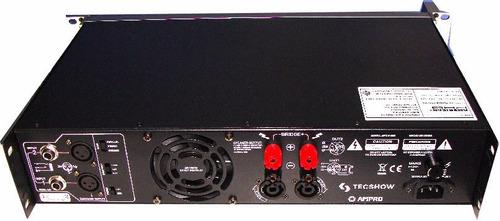 amplificador potencia pro