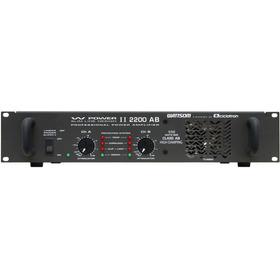 Amplificador Potência Profissional Ciclotron W Power 2200
