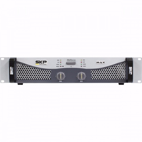 amplificador potencia skp max 320 de 300 rms bivolt 110/220v
