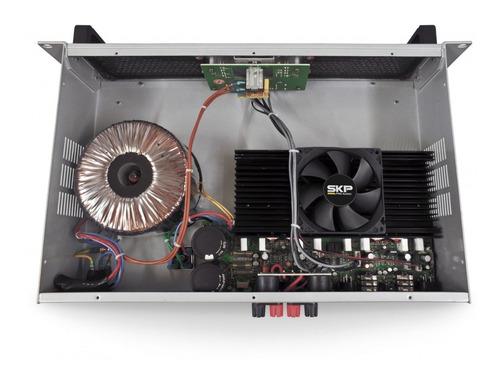amplificador potencia skp max 420 de 400 rms bivolt 110/220v